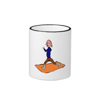 Woman Exercising Coffee Mugs