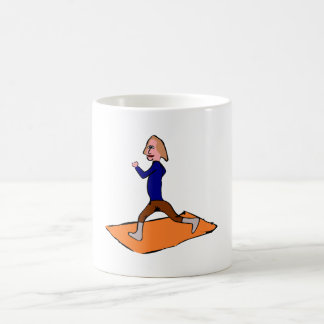 Woman Exercising Coffee Mug