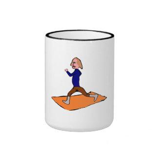Woman Exercising Mug
