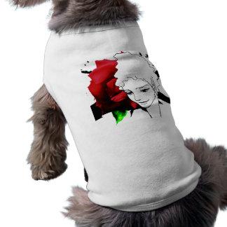 woman face MANGA  comics Sleeveless Dog Shirt