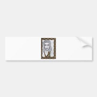 Woman Fashion Design Products Bumper Sticker