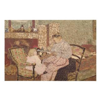 Woman Feeding a Child, 1901 Wood Prints