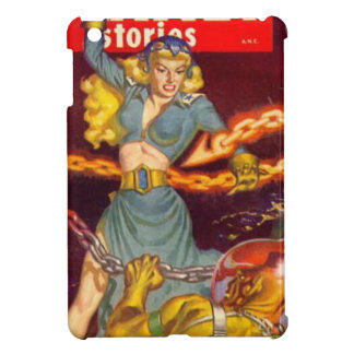 Woman Fighting Monster iPad Mini Covers