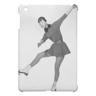 Woman Figure Skating Case For The iPad Mini