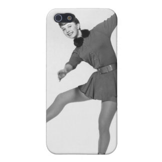 Woman Figure Skating Case For The iPhone 5