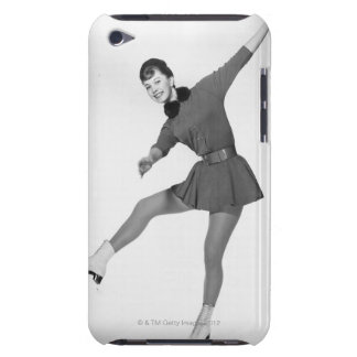 Woman Figure Skating iPod Touch Case