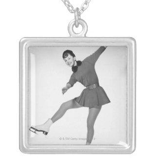 Woman Figure Skating Jewelry