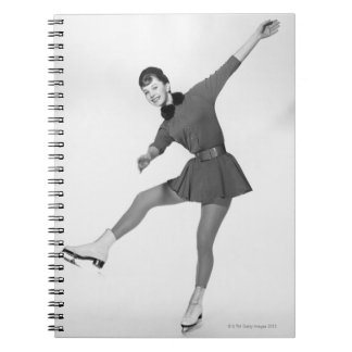 Woman Figure Skating Notebooks