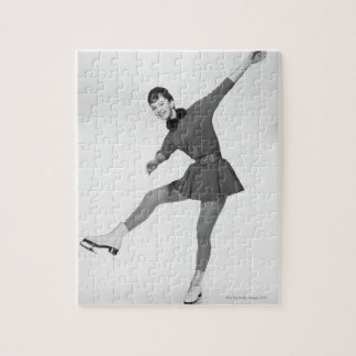 Woman Figure Skating Puzzle