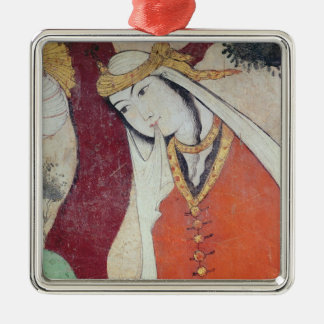 Woman from the Court of Shah Abbas I, 1585-1627 Christmas Ornament