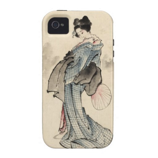 Woman, full-length portrait vibe iPhone 4 covers