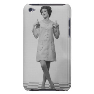 Woman Gesturing Barely There iPod Cover