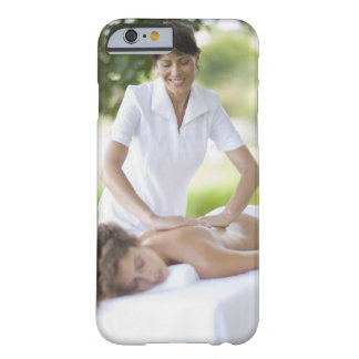 Woman getting a massage barely there iPhone 6 case