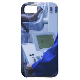 Woman getting mammogram iPhone 5 case