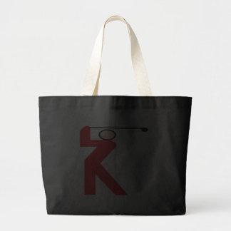Woman Golfer Canvas Bags