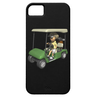 Woman Golfer Cart iPhone 5 Case