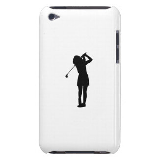 Woman Golfing iPod Touch Covers
