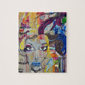 Woman graphic jigsaw puzzle