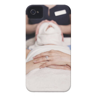 Woman having s[a treatment Case-Mate iPhone 4 cases