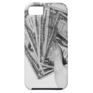 Woman Holding Money iPhone 5 Case