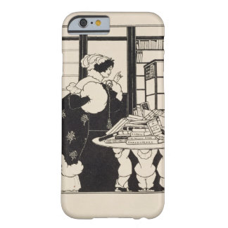Woman in a Bookshop, design for a 'Yellow Book' co Barely There iPhone 6 Case
