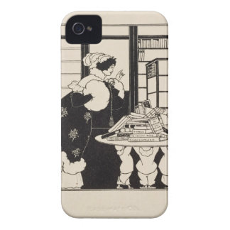 Woman in a Bookshop, design for a 'Yellow Book' co iPhone 4 Case-Mate Case