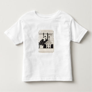 Woman in a Bookshop, design for a 'Yellow Book' co Toddler T-Shirt