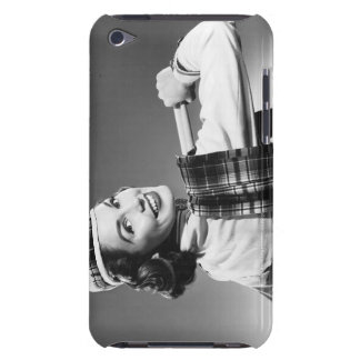 Woman in a Cap Barely There iPod Cover