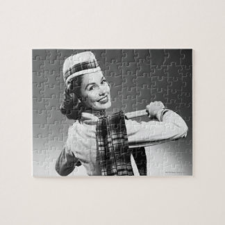 Woman in a Cap Puzzle