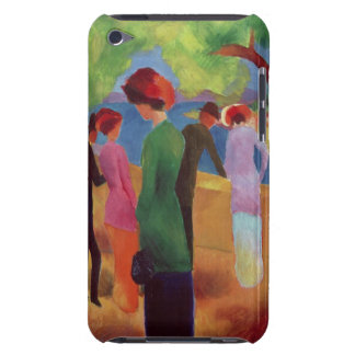 Woman in a Green Jacket, 1913 iPod Case-Mate Cases