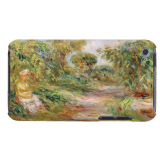 Woman in a Landscape, c.1918 (oil on canvas) Barely There iPod Covers