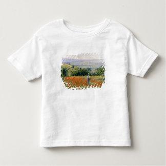 Woman in a Poppy Field Toddler T-Shirt