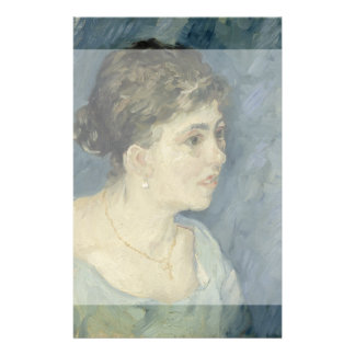 Woman in Blue by Vincent Van Gogh Full Color Flyer