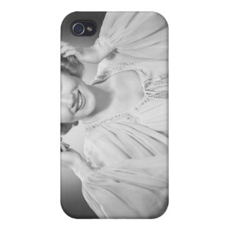 Woman in Dress 2 Case For The iPhone 4