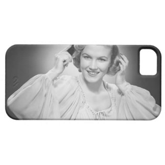 Woman in Dress 2 iPhone 5 Cases