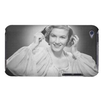 Woman in Dress 2 iPod Case-Mate Case
