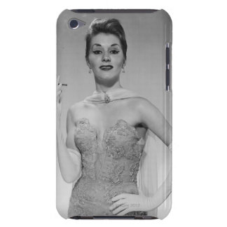Woman in Dress Barely There iPod Covers