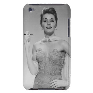 Woman in Dress iPod Touch Case