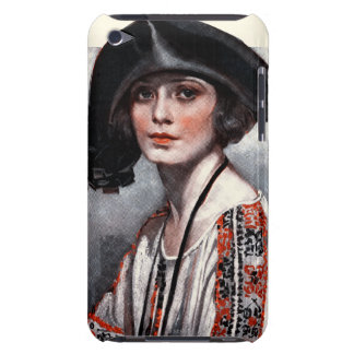 Woman in Embroidered Blouse Barely There iPod Cover