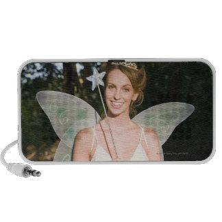 Woman in fairy costume iPhone speaker
