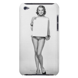 Woman in Fur iPod Touch Covers