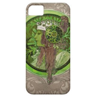 Woman in Green - LAUREL iPhone 5 Case