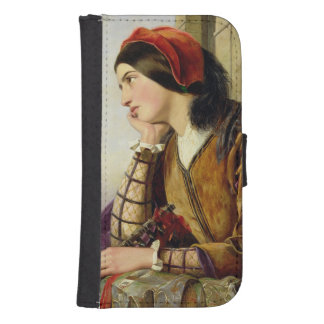 Woman in Love, 1856 Phone Wallet Cases