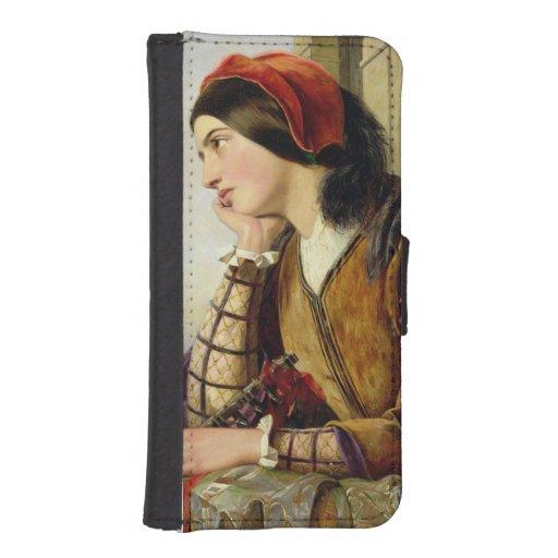Woman in Love, 1856 iPhone 5 Wallet Case