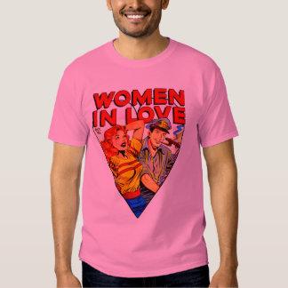 Woman in Love Vintage Comic Fashion Shirts