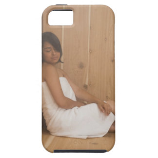 Woman in Sauna Case For The iPhone 5