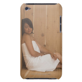 Woman in Sauna iPod Touch Case-Mate Case