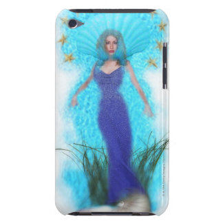 Woman in shell iPod touch case