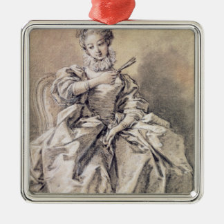 Woman in Spanish Costume Christmas Ornament