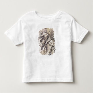 Woman in Spanish Costume Toddler T-Shirt